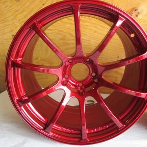 "18"" rims  Done in Candy Red"